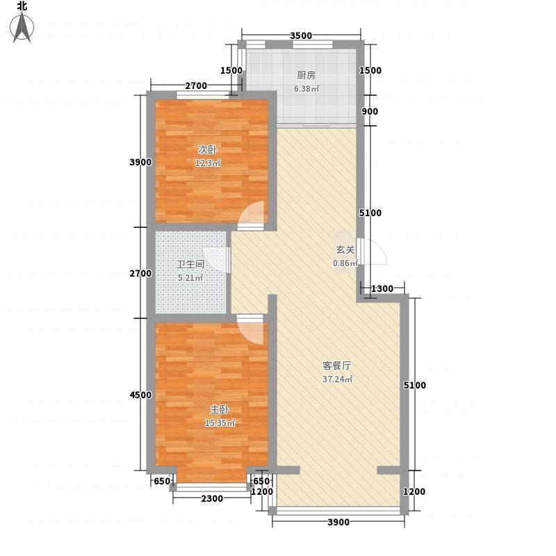 富丽小区6户型2室