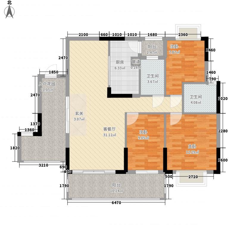 集圆大厦户型3室
