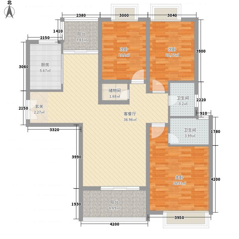 丰湖村53.00㎡户型2室