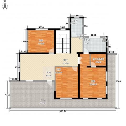 大唐世家(集美)3室1厅2卫0厨182.34㎡户型图