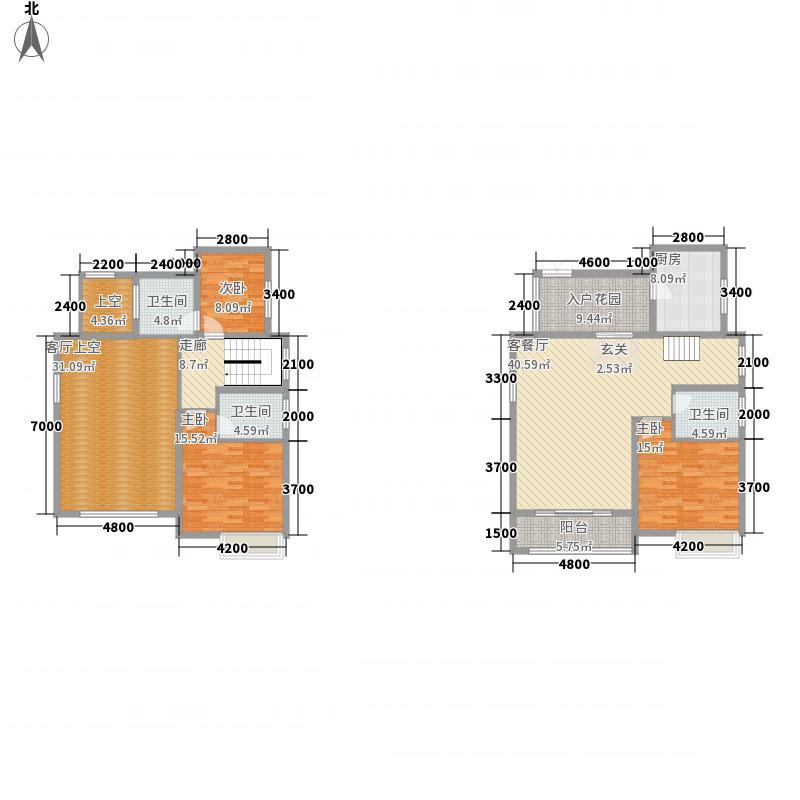 同景国际城户型3室