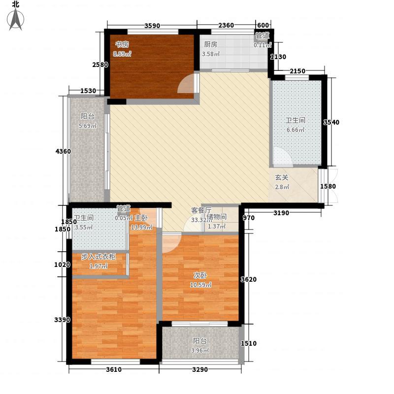 嘉山64.00㎡小区户型2室