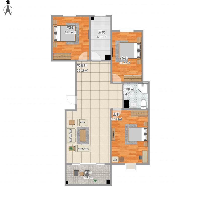 临沂-邑博园1号楼-设计方案