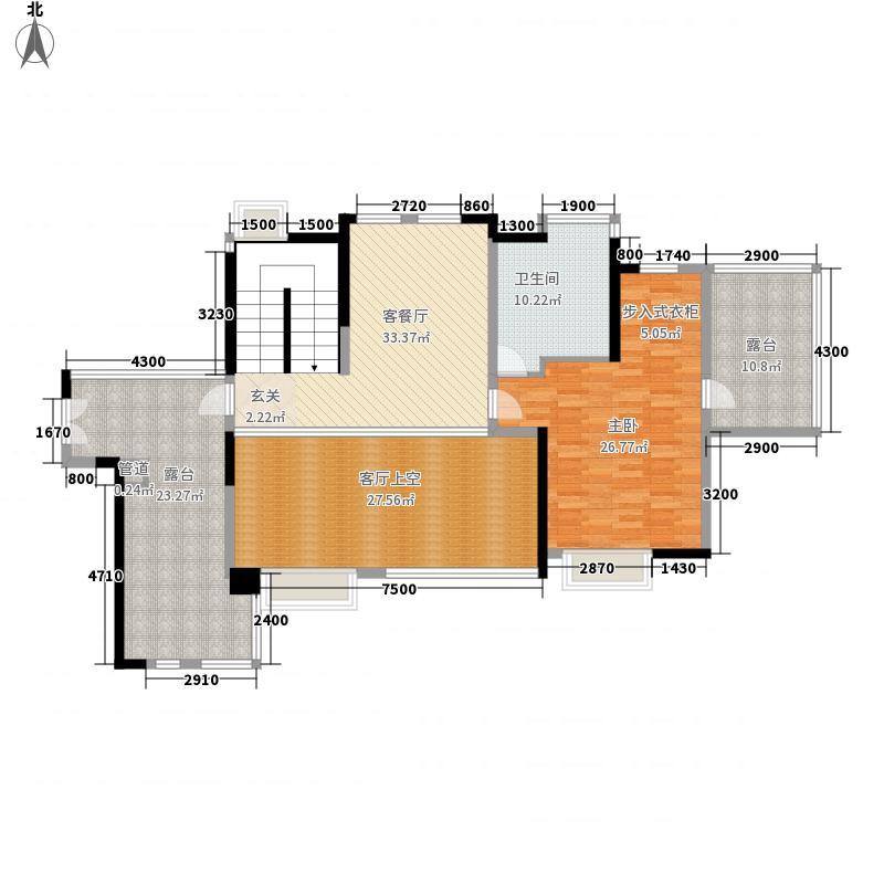 保利生态城275.00㎡175栋3复式上层户型4室3厅4卫1厨