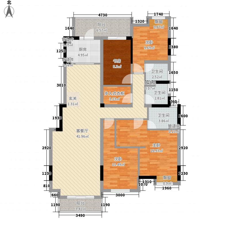 万科蓝山127#、128#电梯洋房1层带花园C1户型