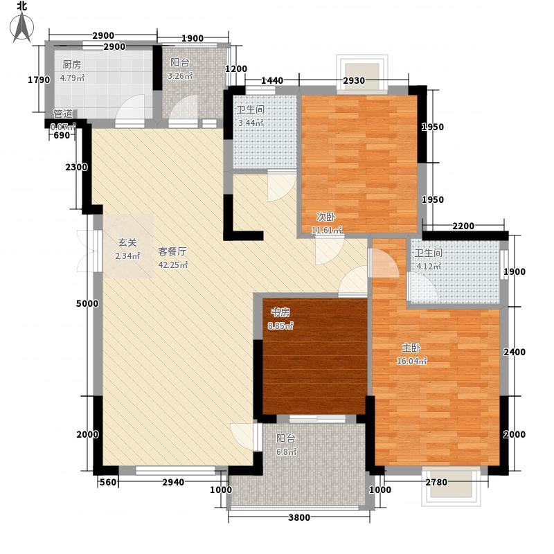 西桥路小区42.00㎡西桥路小区3室户型3室
