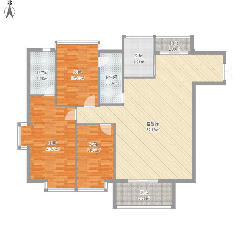 银丰世纪公馆6栋1单元1401号