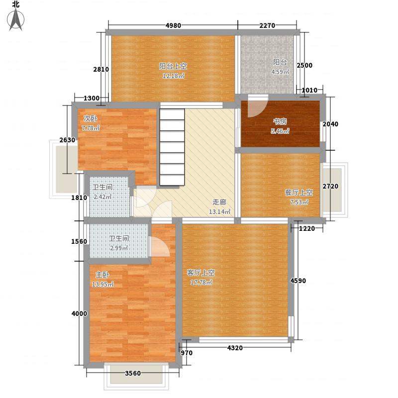 熙龙湾257.00㎡2期6栋B座0户型5室2厅4卫