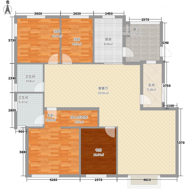 新西蓝二期160.00㎡新西蓝二期户型图4室2厅2卫户型4室2厅2卫