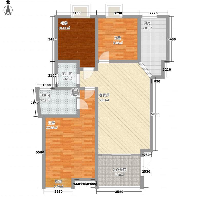 中齐他山134.00㎡中齐他山户型图4#1-202、2-202、3-2023室2厅2卫户型3室2厅2卫