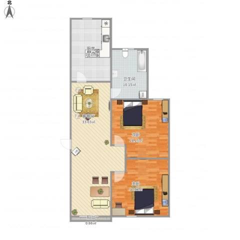 象屿都城-221-1002室1厅1卫1厨125.00㎡户型图
