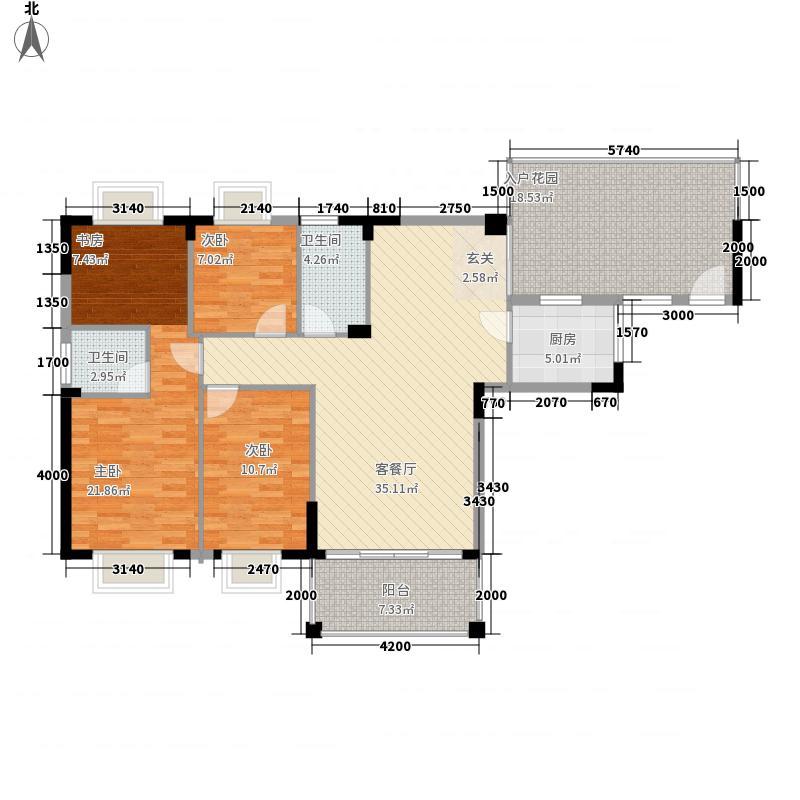 四洲城市经典136.85㎡A02、A06户型3室2厅1卫1厨