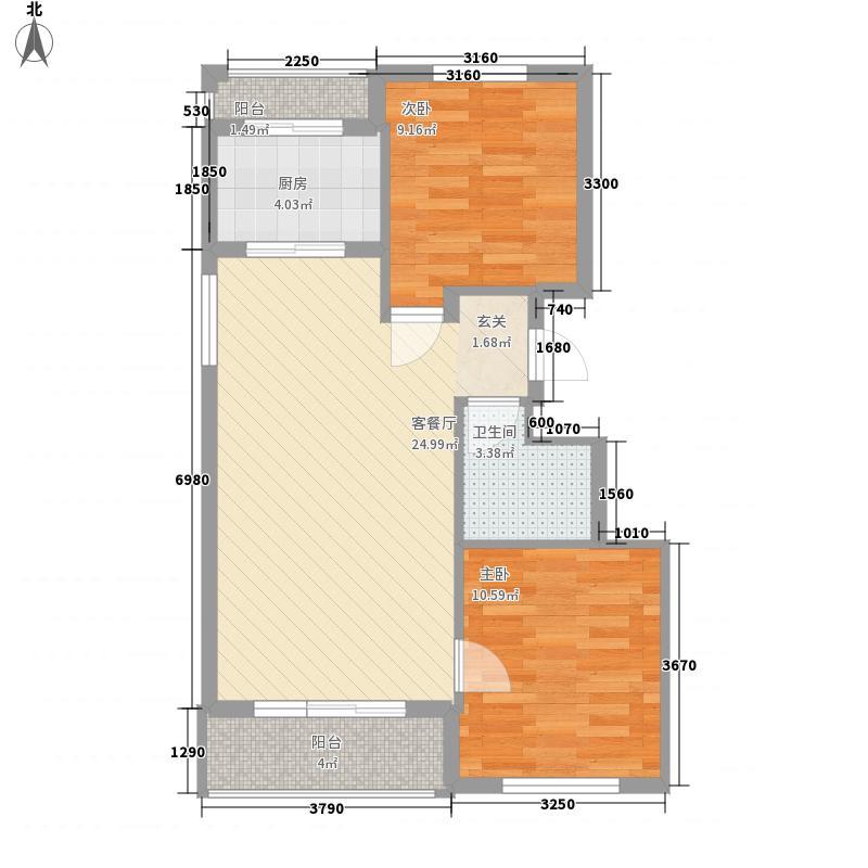 亲亲美境亲亲美境户型图户型图2室1厅1卫1厨户型2室1厅1卫1厨