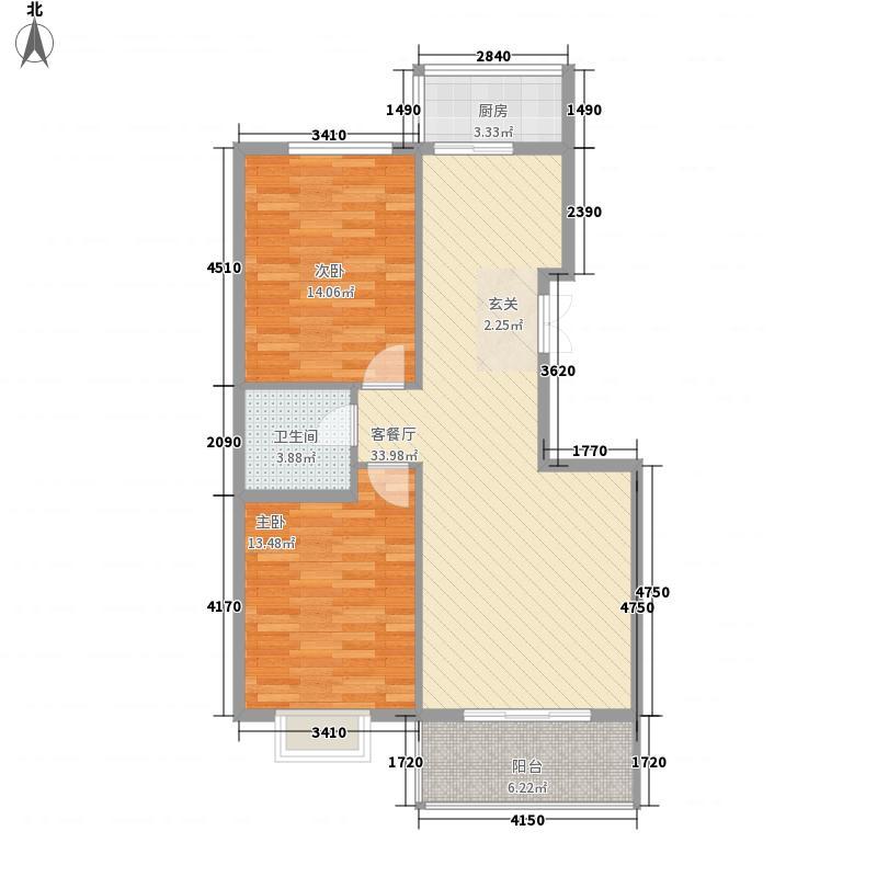 石化厅小区户型2室