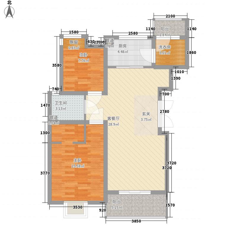 奥林花园二期102.00㎡奥林花园二期户型图2室户型图2室2厅1卫1厨户型2室2厅1卫1厨