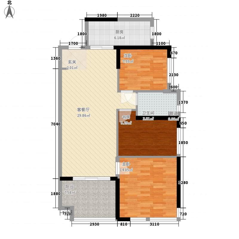 三口塘小区三口塘小区3户型10室