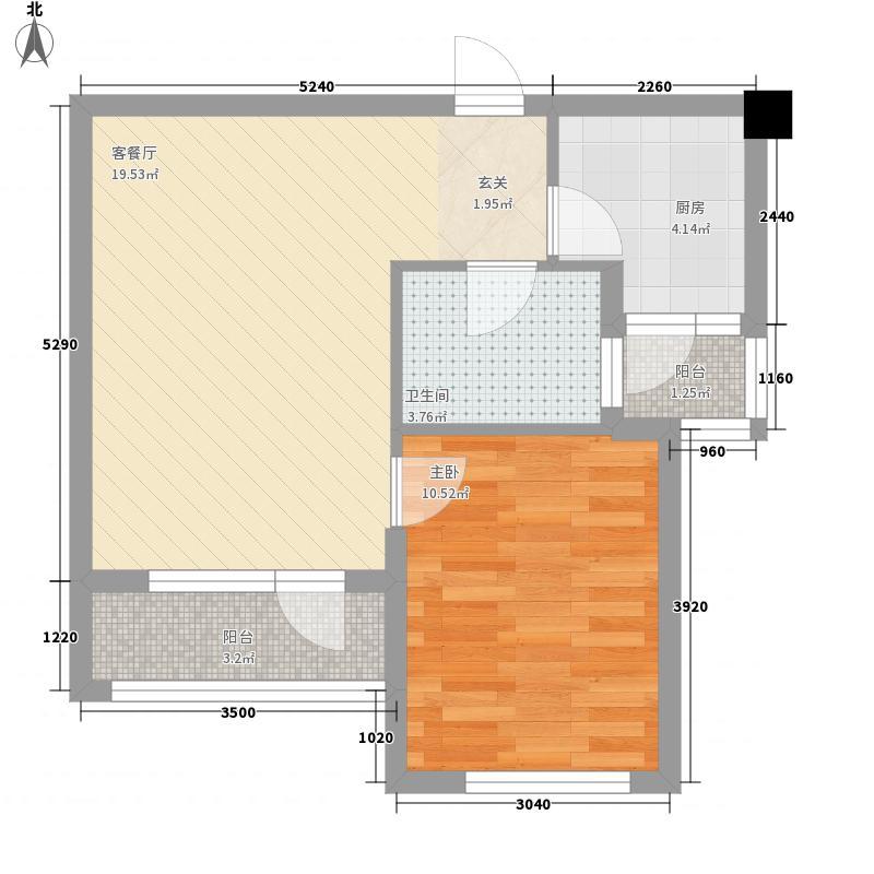 紫庐生态庄园紫庐生态庄园1室户型1室