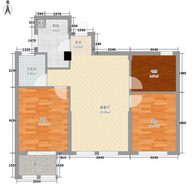 仲外公寓V公寓6号楼户型