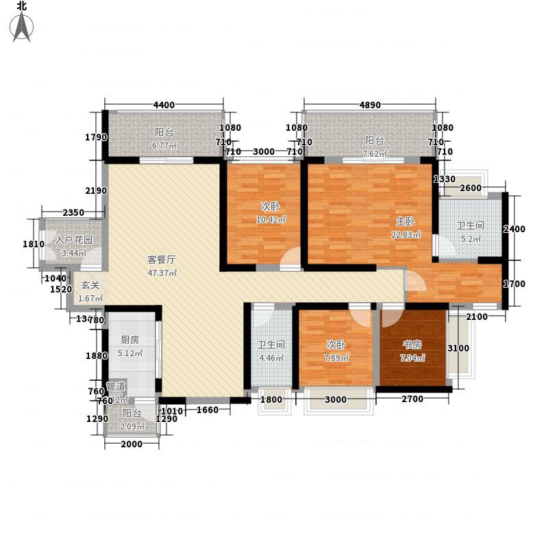 中英街壹号164.00㎡3栋C户型4室2厅2卫1厨