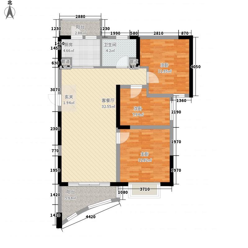 碧桂园十里银滩海景洋房2号楼F2户型