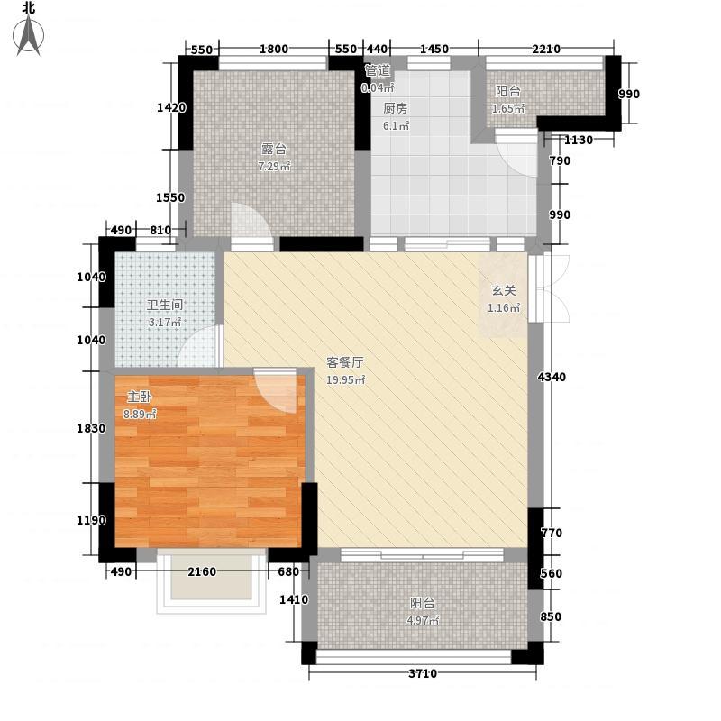 尚悦峰景75.66㎡尚悦峰景E座03-09层011室2厅1卫1厨75.66㎡户型10室