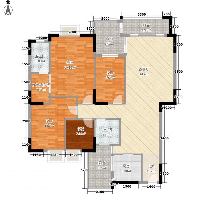 麦兴新苑户型3室