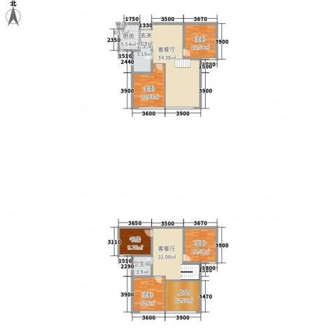 杏坛中心城5室2厅2卫1厨187.00㎡户型图