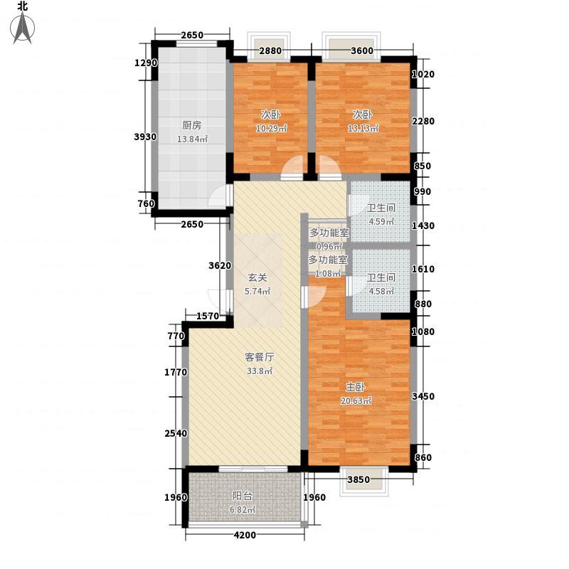 金珠家园户型3室