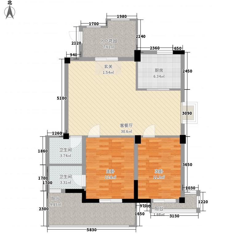 光谷未来阳光海岸163.00㎡户型4室