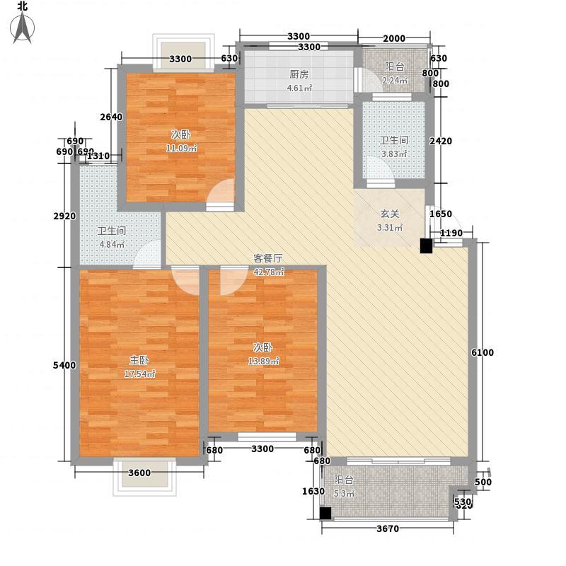 文汇苑户型图[5)KB_6B6DOHHPY5]WRF207 3室