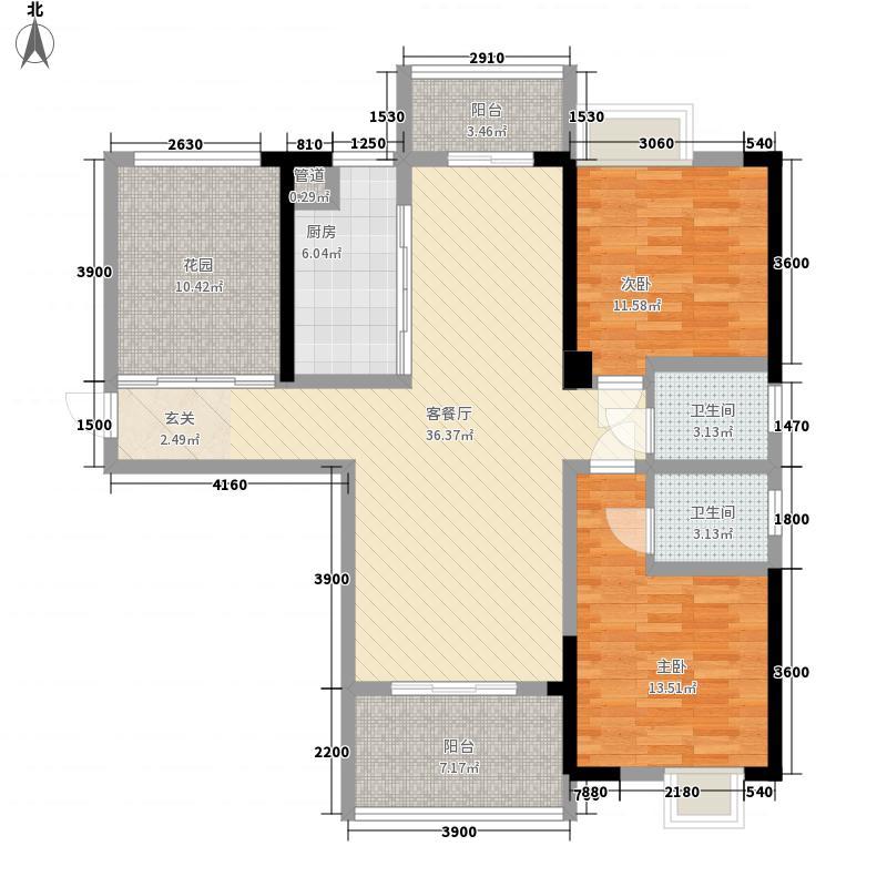 三和光谷道2、3、5、6号楼D户型