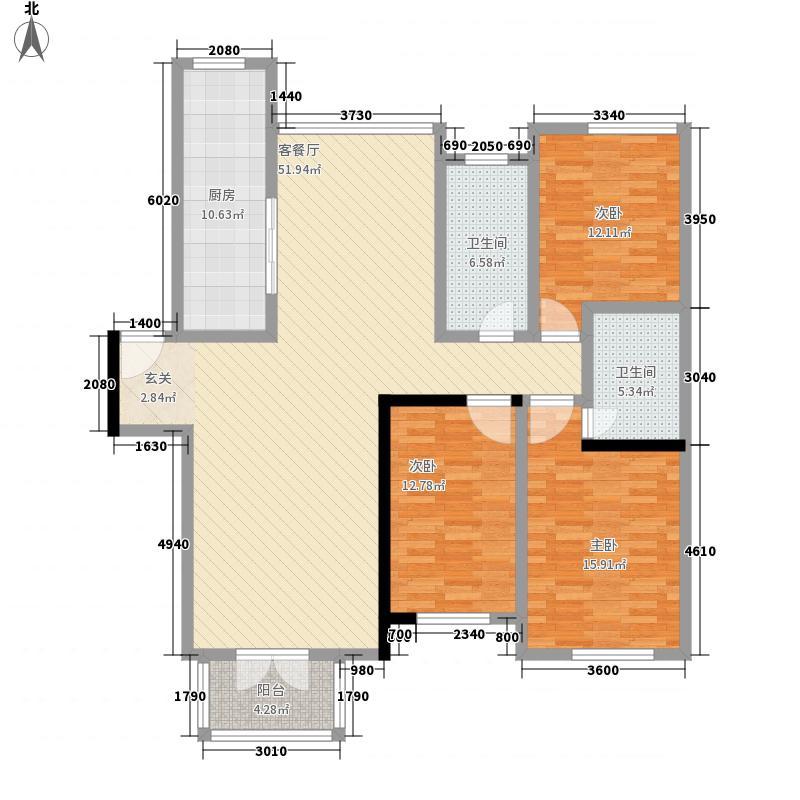 文雅86.00㎡小区户型2室