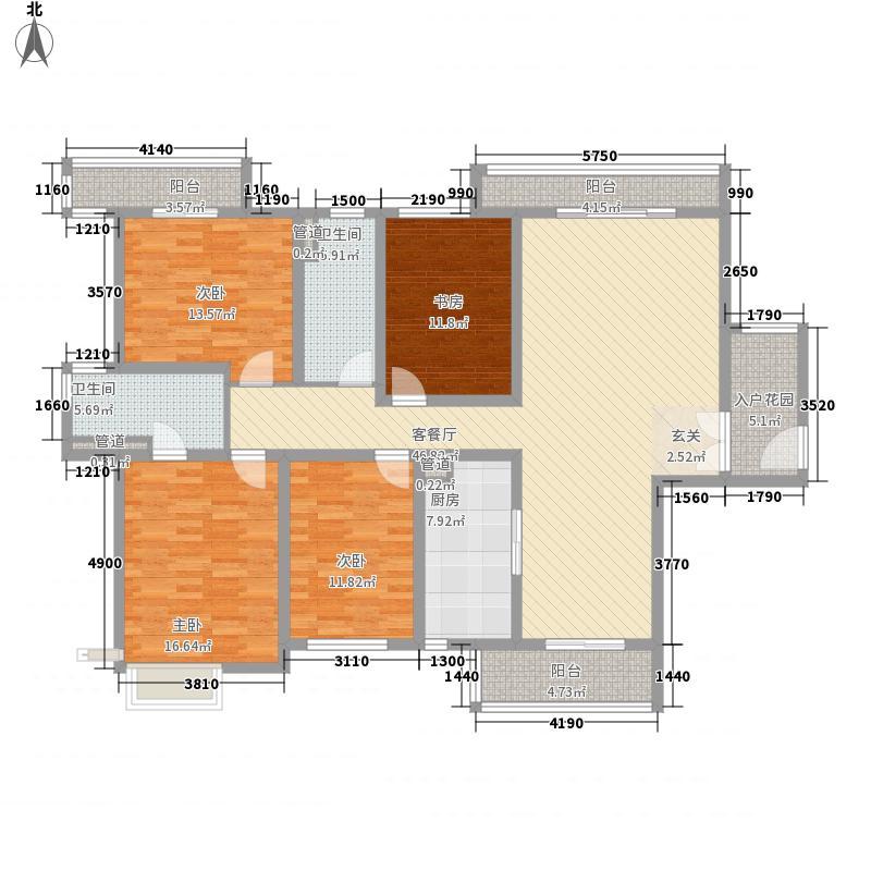 建筑十策202.00㎡建筑十策户型图C1户型4室2厅2卫1厨户型4室2厅2卫1厨