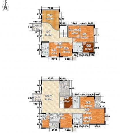 鼎盛时代广场8室2厅5卫1厨336.00㎡户型图