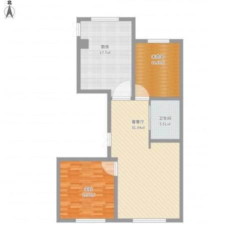 金汇家园1室1厅1卫1厨115.00㎡户型图