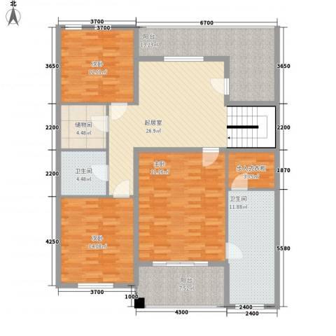 雅庭院3室0厅2卫0厨254.00㎡户型图