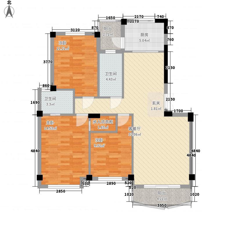 双东坊社区87.00㎡双东坊小区户型3室