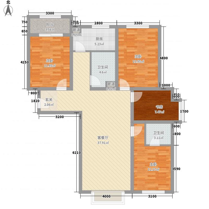 植物园宿舍花1户型4室