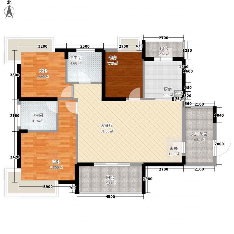 谷尚居户型3室