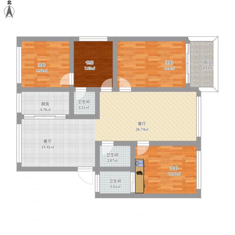 新建岭小区3楼