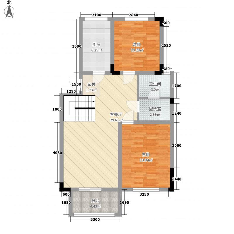 荔清楼户型2室