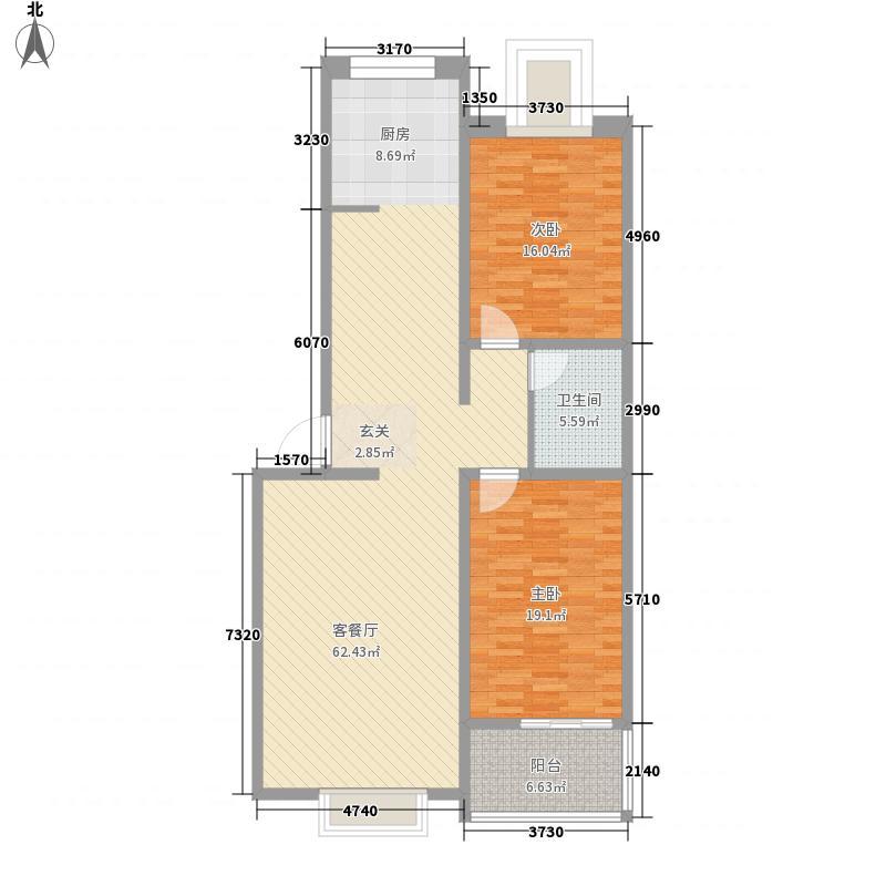 迎宾154.00㎡小区户型3室