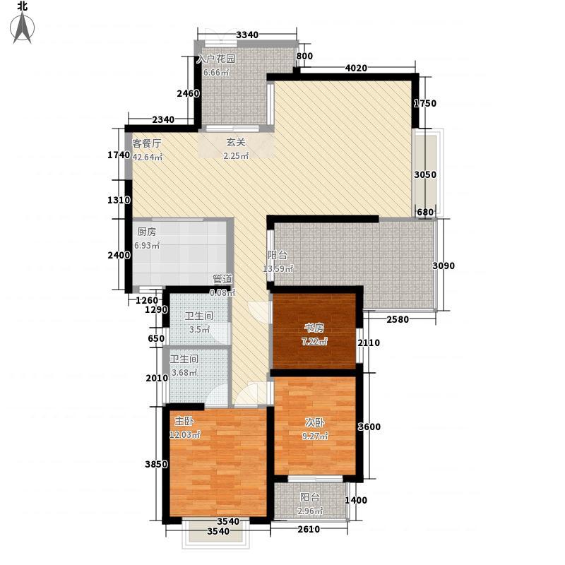 西安广场户型2室1厅1卫1厨