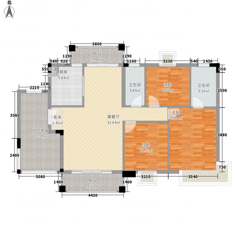 穆天子山庄130.00㎡穆天子山庄户型图半山湾畔3室2厅2卫户型3室2厅2卫