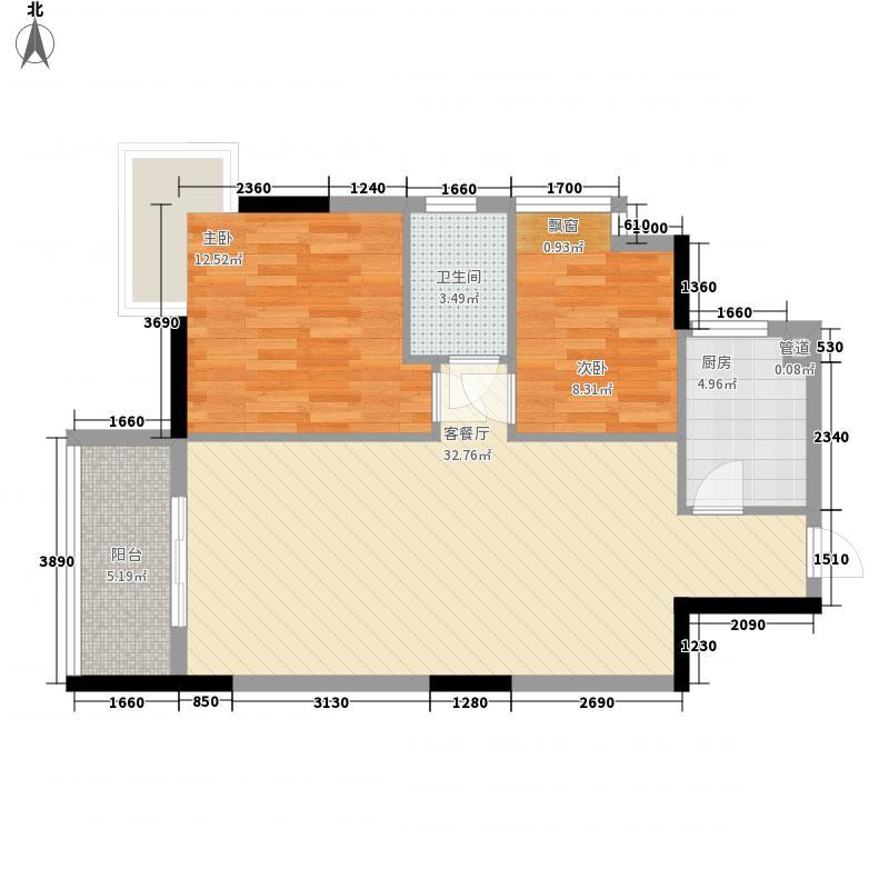 三角路花园三角路花园10室户型10室