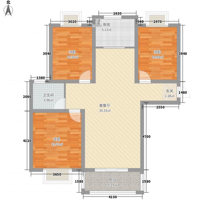 御安西苑119.00㎡御安西苑户型图G/J户型3室2厅1卫1厨户型3室2厅1卫1厨