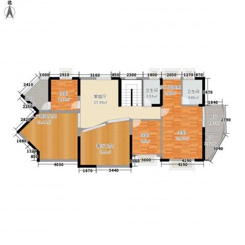 中天彩虹城3室0厅2卫0厨286.00㎡户型图