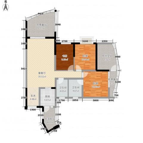 流芳里1室1厅2卫1厨161.00㎡户型图