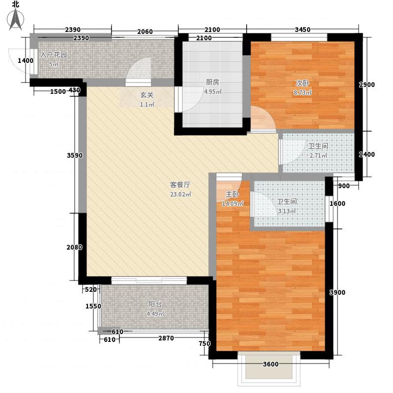 丹尼尔太华路小区户型2室