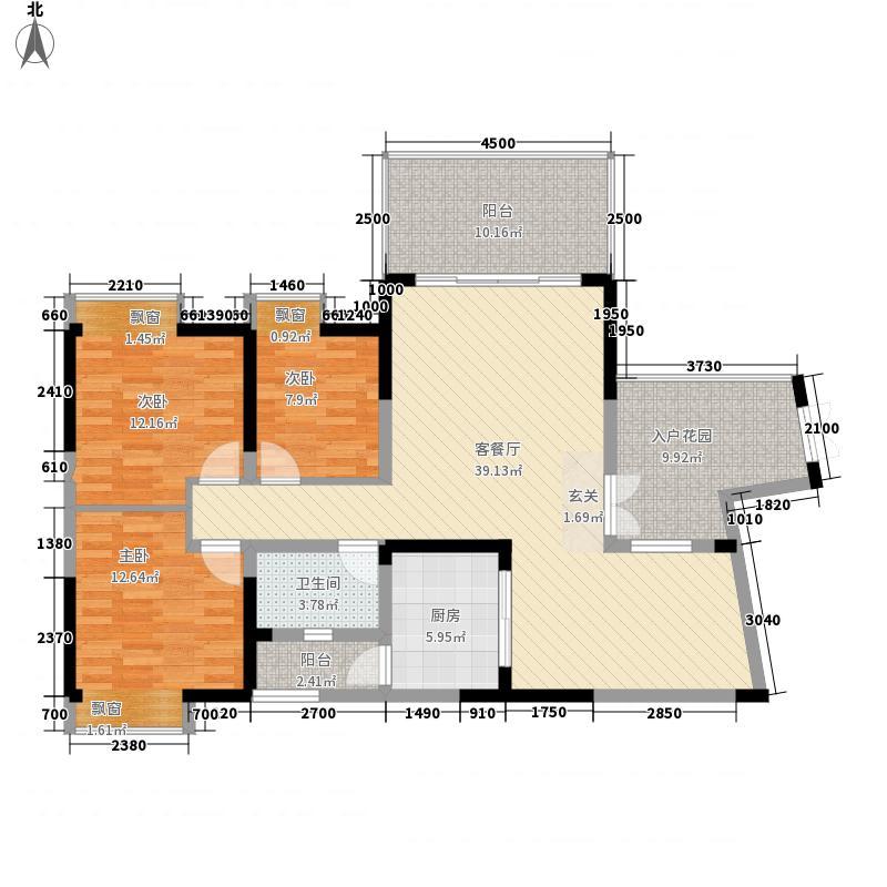 向阳楼3-2-1-1-6户型3室2厅1卫1厨